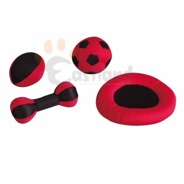 Floatable dog toys set