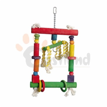 Colorful blocks swing