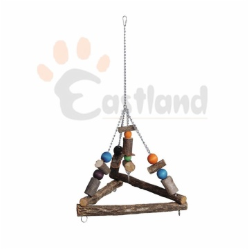 Swing, hanging triangular, welded chain
