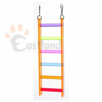 Acrylic ladder, with clip hooks