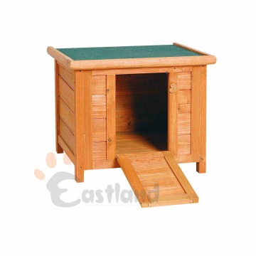 Wooden rabbit hutch, for outdoor use