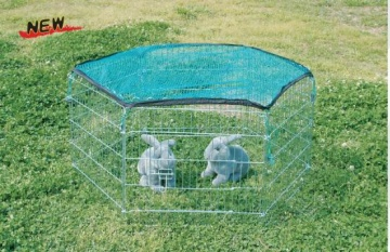 Enclosure with top net for rodents